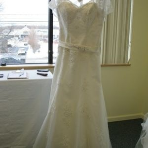 Mary's Bridal Dresses - P.C. Mary's Bridal  Wedding Gown 6226 Ivory